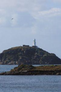 Lighthouse on Round Island