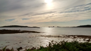 View over the different Isles